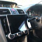 iPadminiを車載して快適ドライブ環境へ!こだわりのマウント術